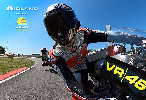 MIDLAND: SELECTED PARTNER OF THE VR|46 RIDERS ACADEMY